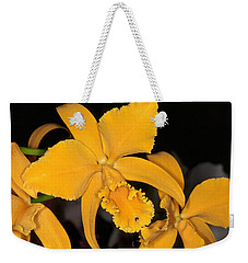 Orchid 5 Weekender Tote Bag by Andy Shomock