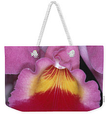 Orchid 8 Weekender Tote Bag by Andy Shomock