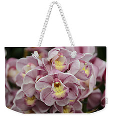 Orchid Bouquet Weekender Tote Bag