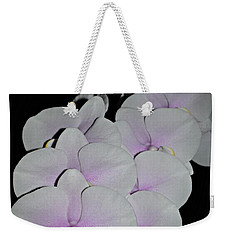 Orchid Bunch Weekender Tote Bag