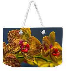 Orchid Color Weekender Tote Bag by Marvin Spates