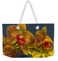 Orchid Color Weekender Tote Bag