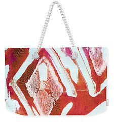 Orchid Diamonds- Abstract Painting Weekender Tote Bag
