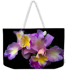 Orchid Embrace Weekender Tote Bag