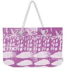 Orchid Fields Weekender Tote Bag