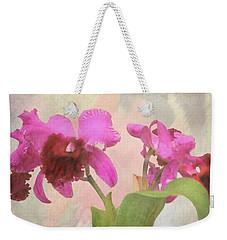 Orchid In Hot Pink Weekender Tote Bag