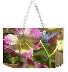 Orchid Splendor Weekender Tote Bag