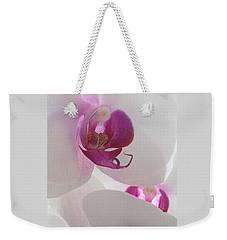 Orchid Trio Weekender Tote Bag by Kathy Spall