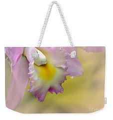 Orchid Whisper Weekender Tote Bag