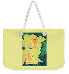 Orchid Yellow Weekender Tote Bag