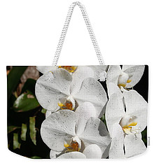 Weekender Tote Bag featuring the photograph Orchids Anna by The Art of Alice Terrill