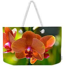 Orchids  Weekender Tote Bag by Lehua Pekelo-Stearns