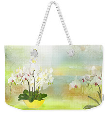 Orchids - Limited Edition 1 Of 10 Weekender Tote Bag by Gabriela Delgado