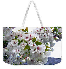 Oregon Cherry Blossoms Weekender Tote Bag