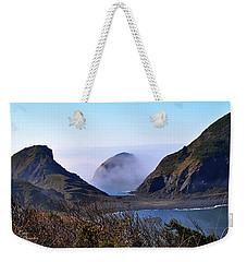 Oregon Coast In Fog Weekender Tote Bag