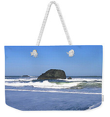 Weekender Tote Bag featuring the photograph Oregon Coast Seascape by Will Borden