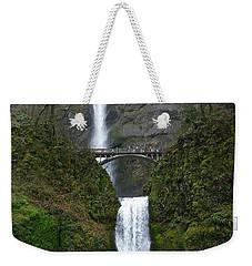 Oregon Long Shot Of  Falls Weekender Tote Bag by Susan Garren