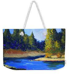 Oregon River Landscape Weekender Tote Bag
