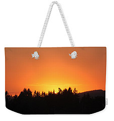 Oregon Sunset Weekender Tote Bag by Melanie Lankford Photography
