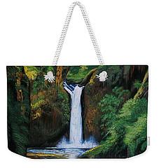 Oregon's Punchbowl Waterfalls Weekender Tote Bag