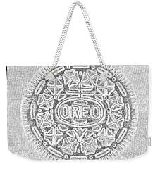 Oreo In Grey Weekender Tote Bag