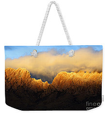 Organ Mountains Symphony Of Light Weekender Tote Bag by Bob Christopher