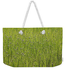 Organic Green Grass Backround Weekender Tote Bag