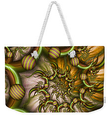 Organic Playground Weekender Tote Bag by Gabiw Art