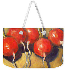 Organic Radishes Still Life Weekender Tote Bag