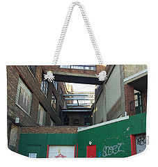 Organic Weekender Tote Bag