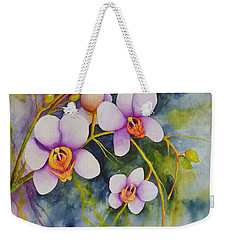Orchids In My Garden Weekender Tote Bag
