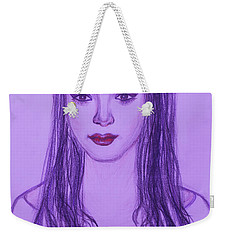The Oriental Girl   Weekender Tote Bag