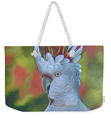 Original Animal Oil Painting Art -parrot #16-2-5-17 Weekender Tote Bag