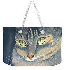 Original Cat Painting Weekender Tote Bag