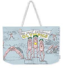 Original Olympics Weekender Tote Bag