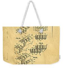 Original Us Patent For Lego Weekender Tote Bag by Edward Fielding