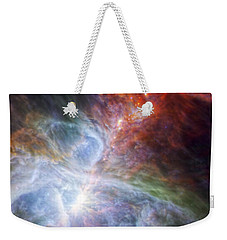 Orion's Rainbow Of Infrared Light Weekender Tote Bag