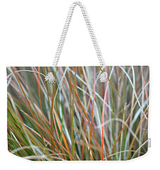 Ornamental Grass Abstract Weekender Tote Bag by E Faithe Lester