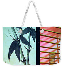 Ornamental Oriental Weekender Tote Bag by Chris Anderson