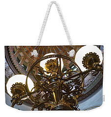 Ornate Lighting - Sprngfield Illinois Capitol Weekender Tote Bag