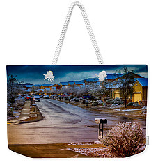 Oro Valley Winter No.54 Weekender Tote Bag