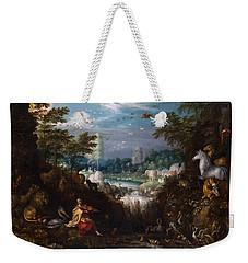 Orpheus Weekender Tote Bag