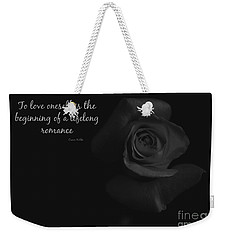 Oscar Weekender Tote Bag by Clare Bevan