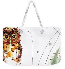 Oscar Weekender Tote Bag by Dawn Derman