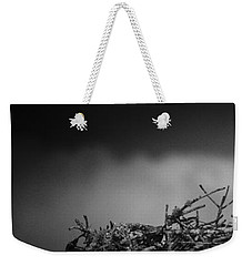 Weekender Tote Bag featuring the photograph Osprey by Bradley R Youngberg