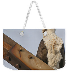 Weekender Tote Bag featuring the photograph Osprey -seahawk by Dale Powell