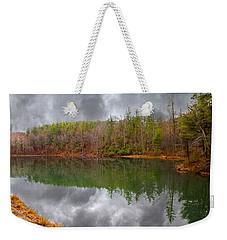 Otter Lake Reflections Weekender Tote Bag