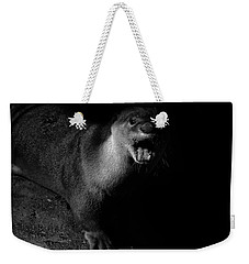 Otter Wars Weekender Tote Bag by Martin Newman
