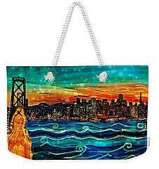 Our Lady Of The Bay Weekender Tote Bag