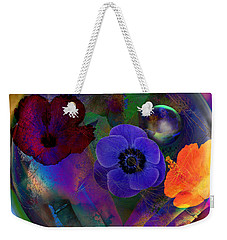 Our Nature Of Love Weekender Tote Bag by Joseph Mosley